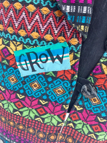 'Grow' Upcycled Vest