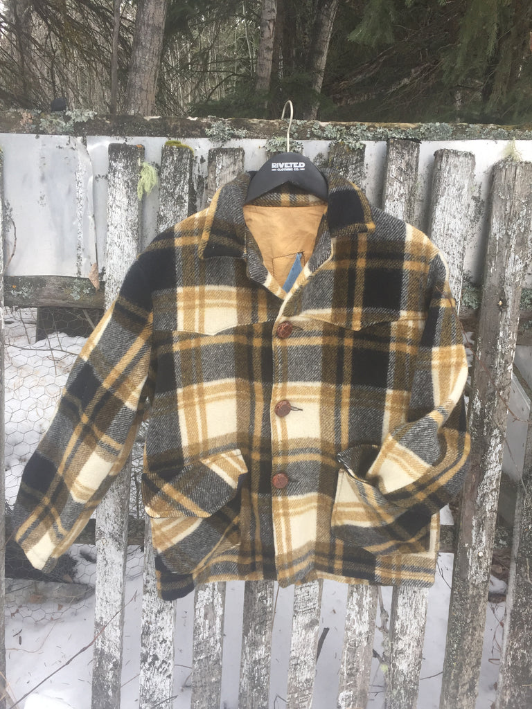 'Wildling' Plaid Coat