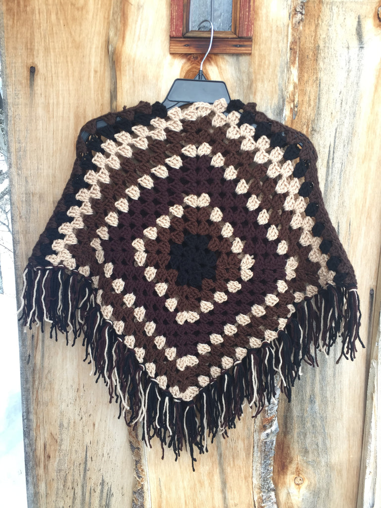 'Earth child' Poncho
