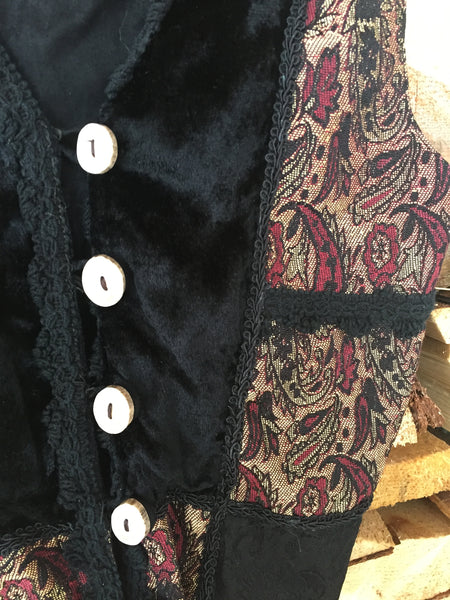 'Mad Magician' Upcycled Vest