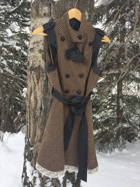 'Seed' Upcycled Vest-Coat