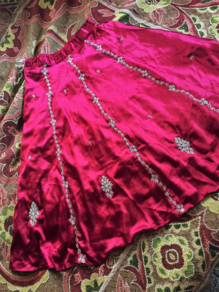 'Ruby Tuesday' Upcycled Skirt