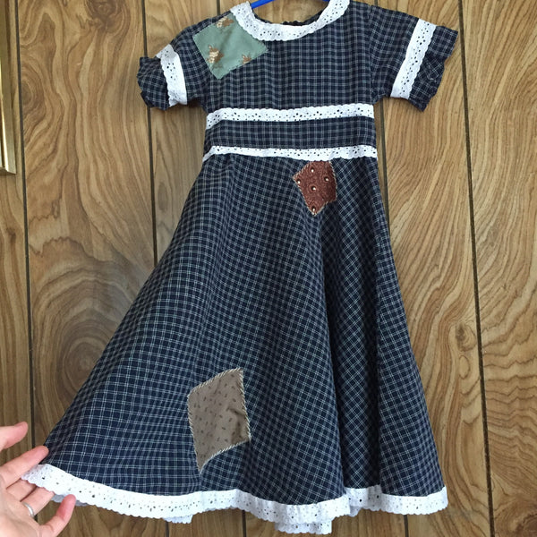 'Prairie Girl' Upcycled Dress