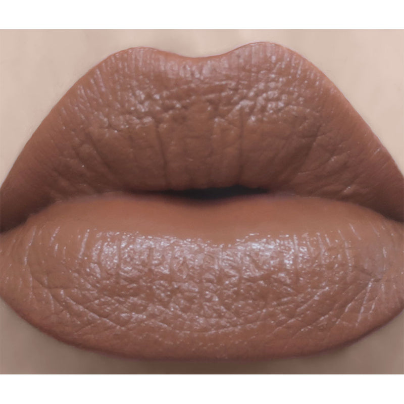 Cafe au lait - Semi-Matte Muted Mocha Brown Lipstick