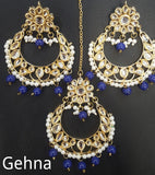Latika Earrings and Tikka