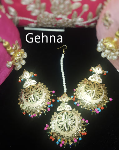 Aasha Earrings and Tikka