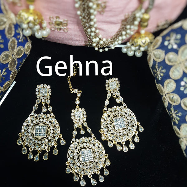 Amara Earrings and Tikka Set