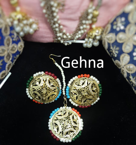 Ardika Earrings and Tikka