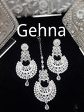 Mahika Earrings and Tikka