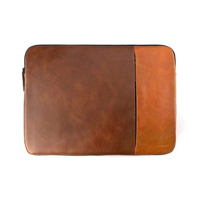 "Andar Wallets Cases Camel Tan/Brown / Large (Fits up to 16"" Laptop) The Chase"