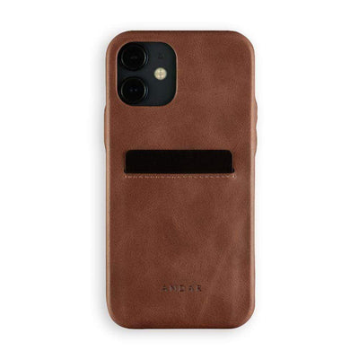 Andar Wallets Cases iPhone 12 / Brown The Fitz | Apple iPhone