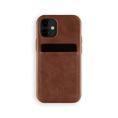 Andar Wallets Cases iPhone 12 Mini / Brown The Fitz | Apple iPhone
