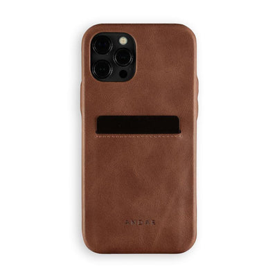Andar Wallets Cases iPhone 12 Pro / Brown The Fitz | Apple iPhone