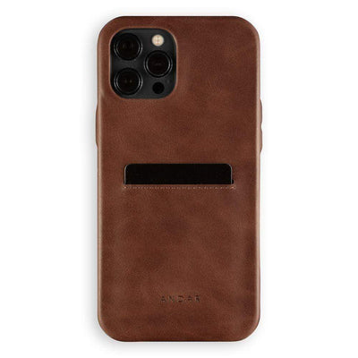 Andar Wallets Cases iPhone 12 Pro Max / Brown The Fitz | Apple iPhone
