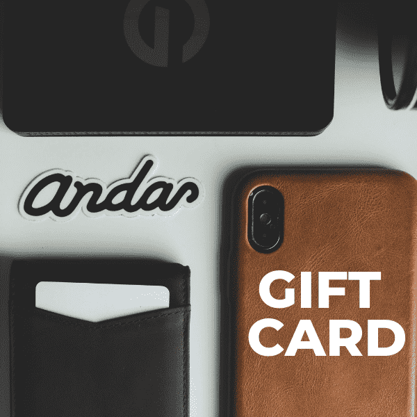 The Gift Card - Andar Wallets