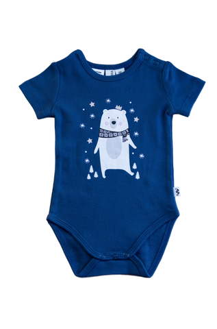 BEAR SHORT SLEEVE BODYSUIT