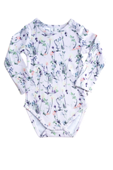 MILLA FORAL LONG SLEEVE BODYSUIT