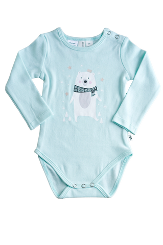 BEAR LONG SLEEVE BODYSUIT