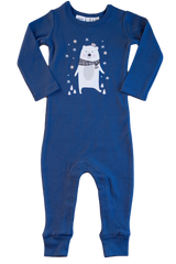 BEAR FOOTLESS PULLOVER SUIT