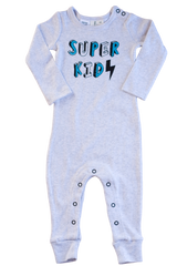 SUPER KID FOOTLESS PULLOVER SUIT