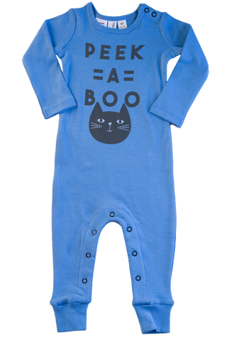 PEEK A BOO FOOTLESS PULLOVER SUIT