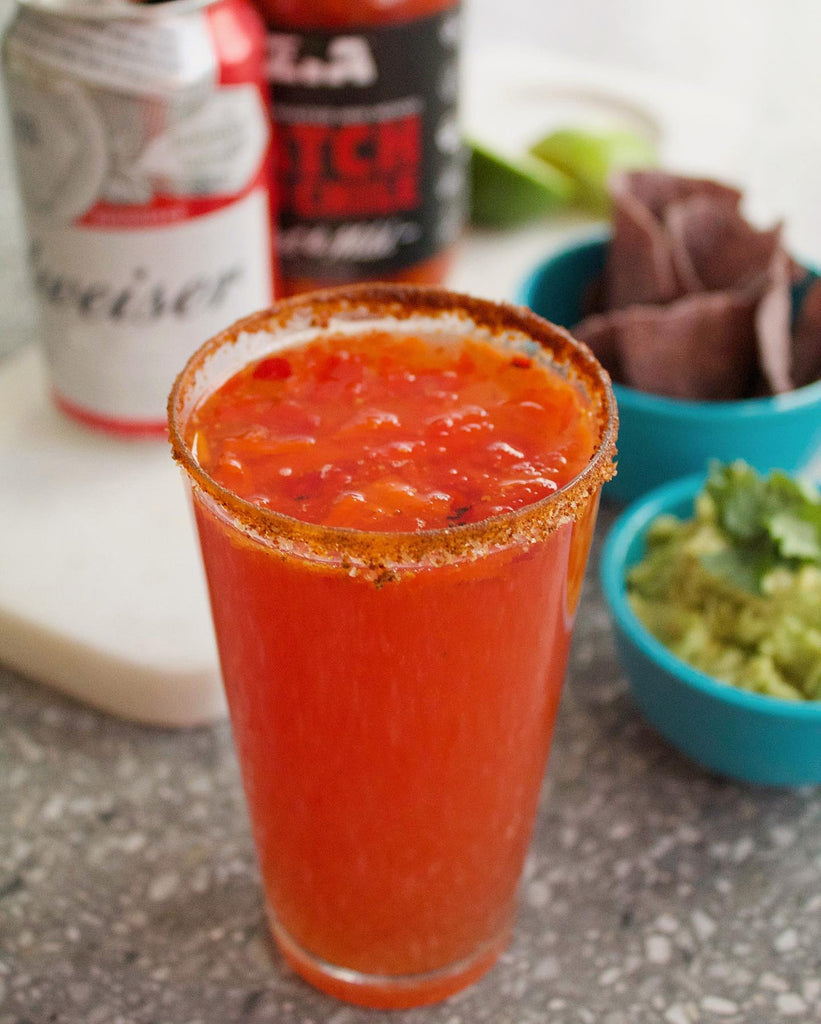 Hatch Red Chile Michelada