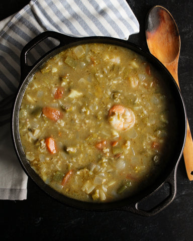 Hatch Green Chile Seafood Gumbo