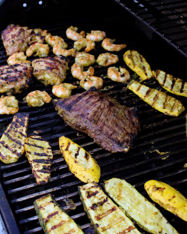 Hatch Green Chile Cilantro-Lime Grilling Marinade