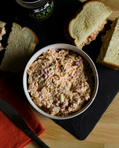 Hatch Green Chile Masters Pimento Cheese Sandwich