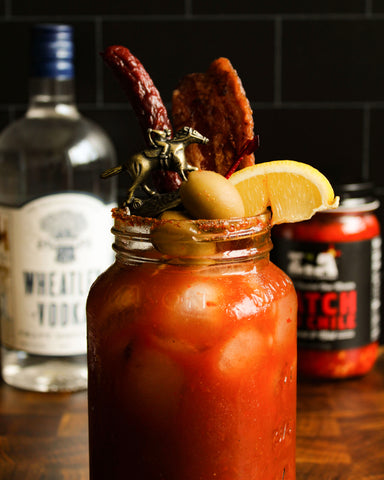 Zia Hatch Red Chile Kentucky Bloody Mary