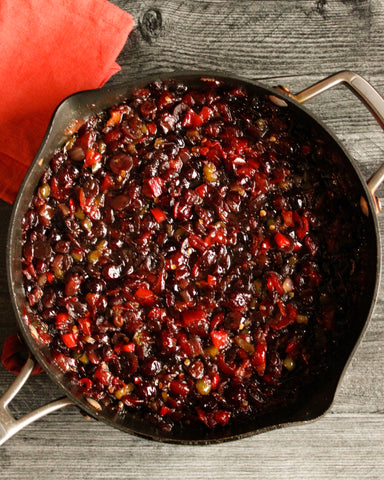 Hatch Red Chile Cranberry Chutney