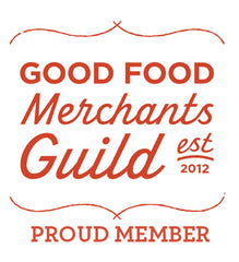 Proud Member of the Good Food Merchants Guild