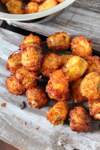 Hatch Green Chile Tater Tots
