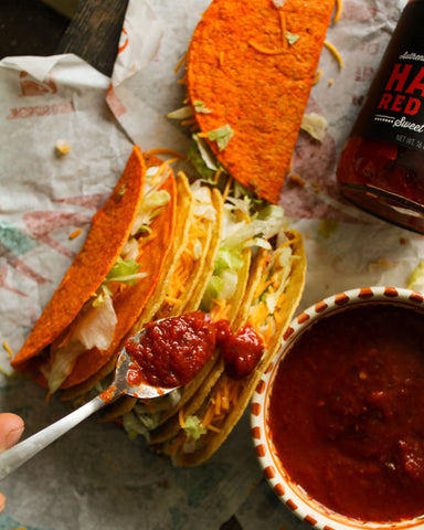 "Hatch Red Chile ""Taco Bell"" Sauce"