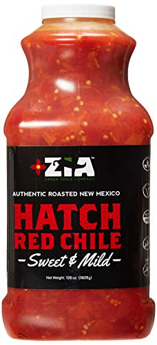 Roasted Zia Hatch Red Chile (128oz Bulk Size)