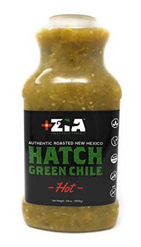 Roasted, Harvest Fresh Hot Hatch Green Chile (128oz Bulk Size)