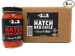Roasted Zia Hatch Red Chile - 6 Pack