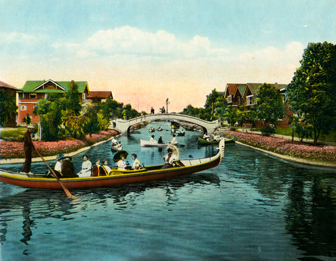 Venice Canals 1909 Abbot Kinney