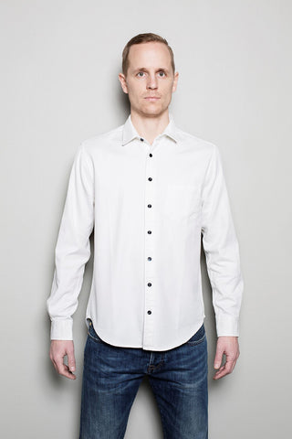Standard Shirt - Broken Twill // Off White