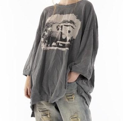 Top 959 Cotton Jersey Oversized Baja Surf Francis Pullover