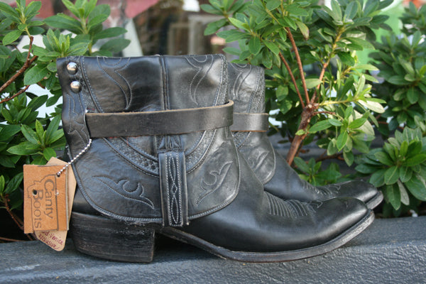 Canty Boot - Vintage Black Lucchese