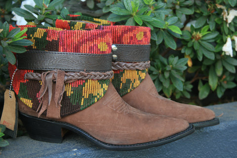 Canty Boots -Tapestry Vintage