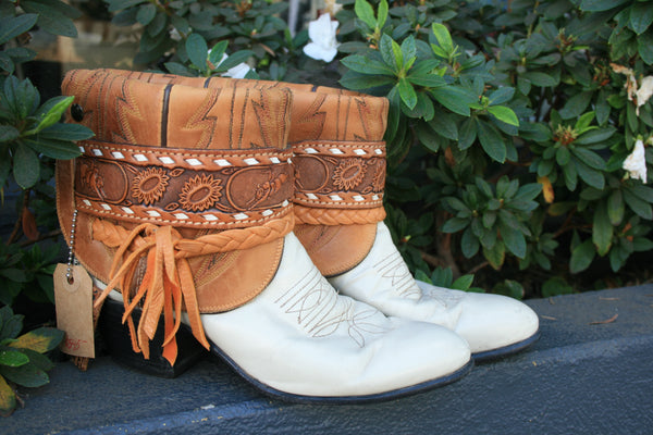 Canty Boots - Justin Vintage Bottoms