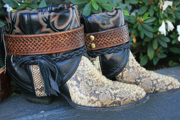 Canty Boots - Vintage Larry Maham Custom
