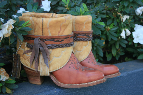 Canty Boots - Capezio 70's Bottoms with Adams Tops