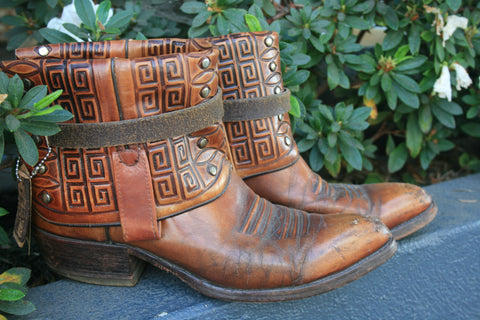 Canty Boots - Dan Post 1970's