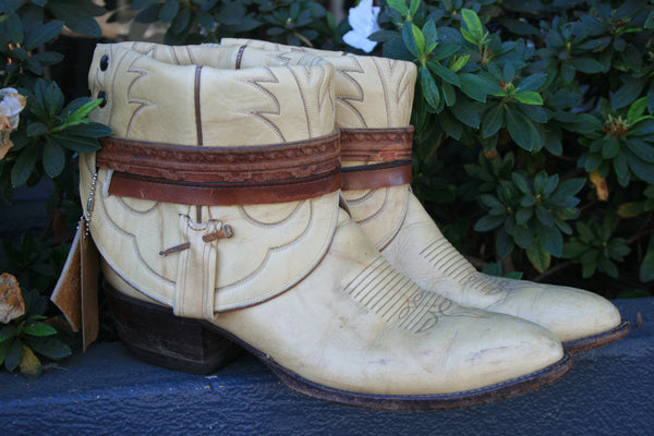 Canty Boots - Tony Lama With Horseshoe Nail