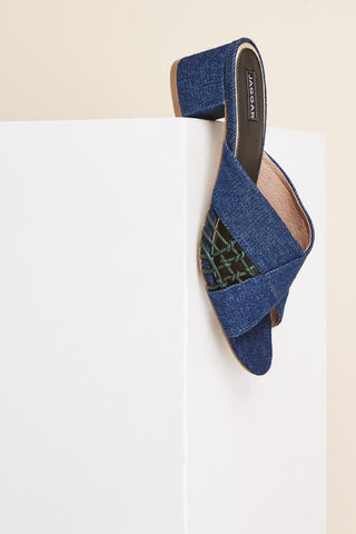 Attain Denim Heel - Denim