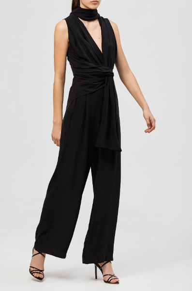 Alma Silk Jumpsuit