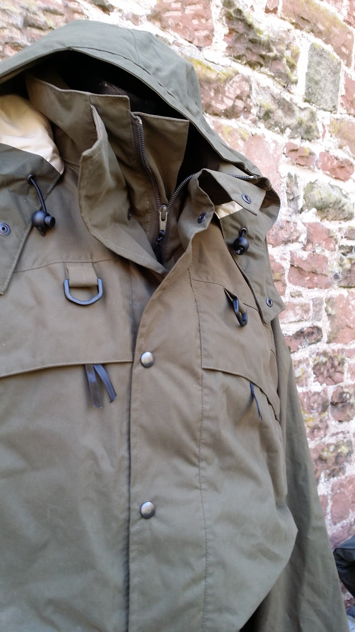 "The NomadUK "" Kenmore"" Deep Water Chest Wading Jacket"